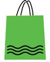 lime shopping bag